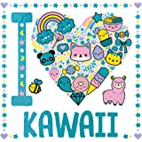 I Heart Kawaii (I Heart Colouring)
