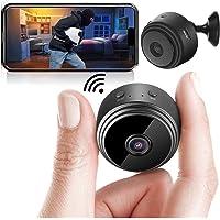 Safety Net Mini Spy Camera WiFi Hidden Camera Wireless HD 1080P Indoor Home Small Spy Cam Security Cameras/Nanny Cam…