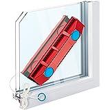 Tyroler Bright Tools The Glider D-2 - Limpiacristales Magnético para Ventanas de Vidrio Doble con un Grosor de 8-18 mm