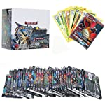 Pokemon Go & Sun and Moon Cards Team Up Trade Game Card 36 Packs (300 Plus Cards) (Free 4 Pocket 1 Album )