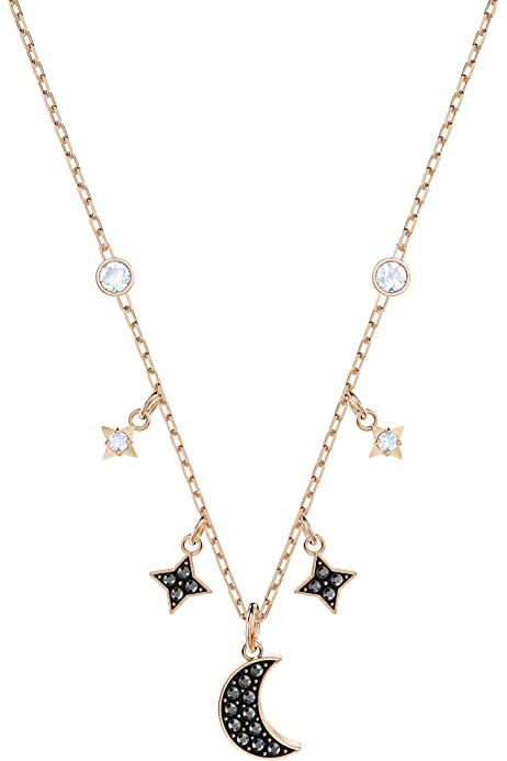 Swarovski Glowing Clover Necklace Set, Multi colored, Mixed