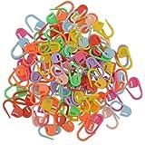 Miryo-100pcs marcadores de la puntada de plástico para hacer punto del ganchillo de bloqueo, cierre de ganchillo, herramienta