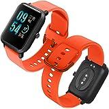 Th-some Universele armband voor Amazfit Bip horloge, waterdicht, verstelbaar, reservearmband voor Xiaomi Huami Amazfit Bip Bi