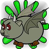 Monstruo Zombie Cerdos Remontarse - Monster Zombie Pigs Soar