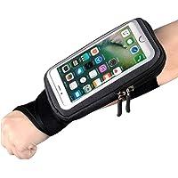 Fascia da Braccio Porta Cellulare Telefono pollice braccialetto Sweatproof Bracciale per Corsa Esercizi per iPhone 12…