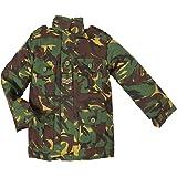 Highlander Childrens Padded Camouflage Combat Jacket - British DPM
