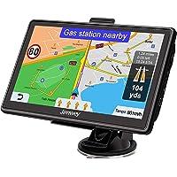 Jimwey Navigationsgerät für Auto Navi LKW Navigation 7 Zoll Lebenslang Kostenloses Kartenupdate mit POI Blitzerwarnung…