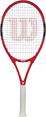 Wilson Roger Federer 100-3 Graphite Tennis Racquet, 4 3/8inches