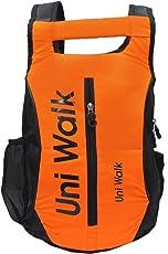NISUN Polyester School College Bags (15 Liter Orange Casual Backpack)