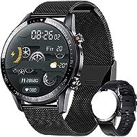 ieverda Montre Connectée,Montre Intelligente Homme IP68Etanche Bracelet Connecté Cardio Podometre Smartwatch Sport…