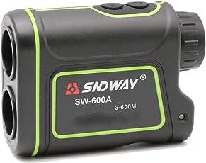600M Handheld Monocular Digital Laser Distance Meter Hunting Rangefinder Telescope Golf Distance Meter