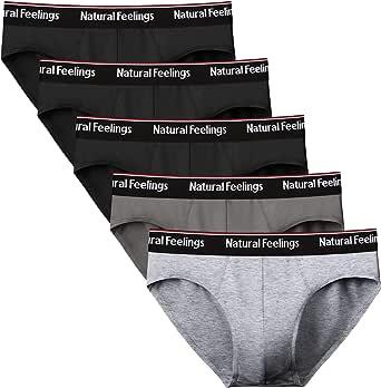 Lovemist Men's Underwear Briefs Soft Cotton Briefs Mens Pack Classic Slips Soft Waistband Underpants