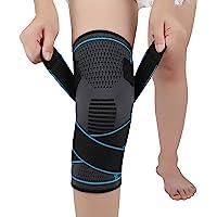 Ginocchiera per artrite ACL e menisco Ginocchiere regolabili con strappi per ginocchia sportive per uomini e donne…