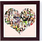 12in X 12in COLLAGE FRAMES MOSAIC COLLAGES PHOTO FRAME PHOTO COLLAGELETTER COLLAGE Personalised & Customised Gifts for Him He