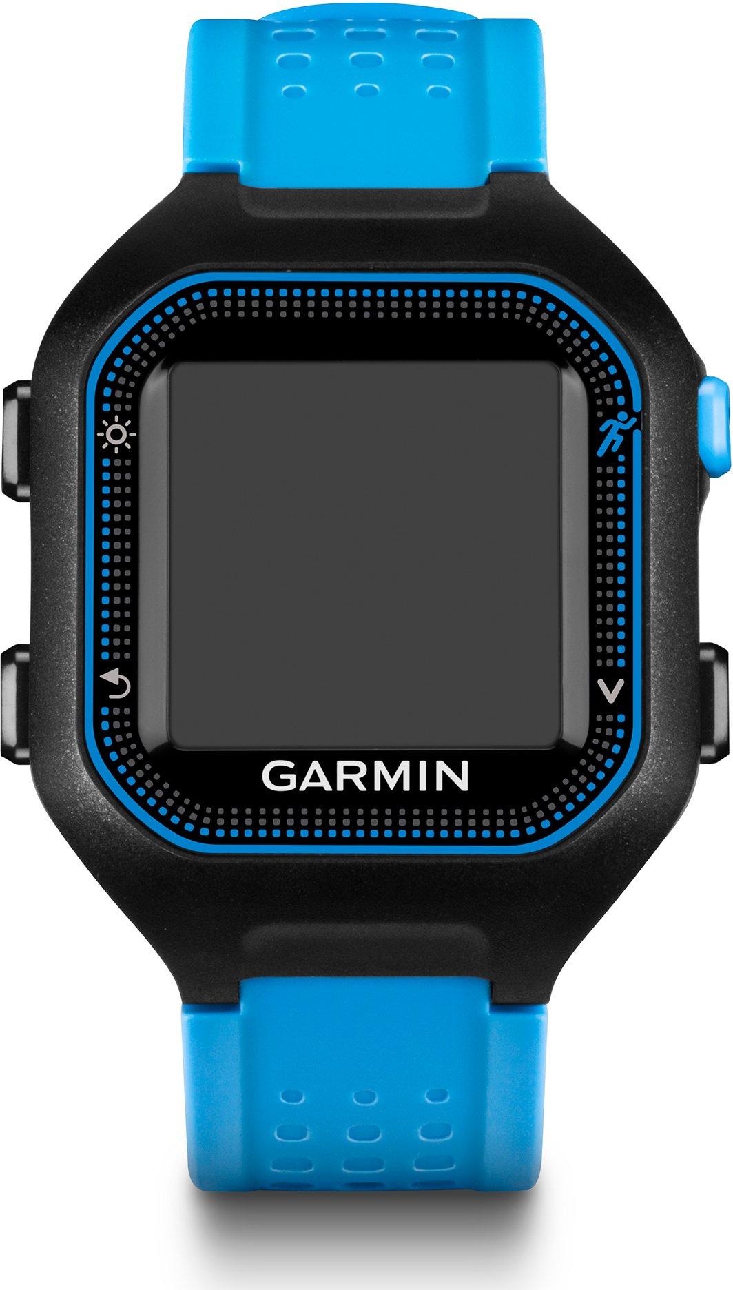 Garmin 010-01353-30 Forerunner 25 Small GPS Running Watch, Black/Purple