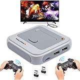 Whatsko Arcade Game Console Mini Super Console X con 33000 Giochi + Joystick Wireless 2 pezzi, 1280*720 Full HD Retro…
