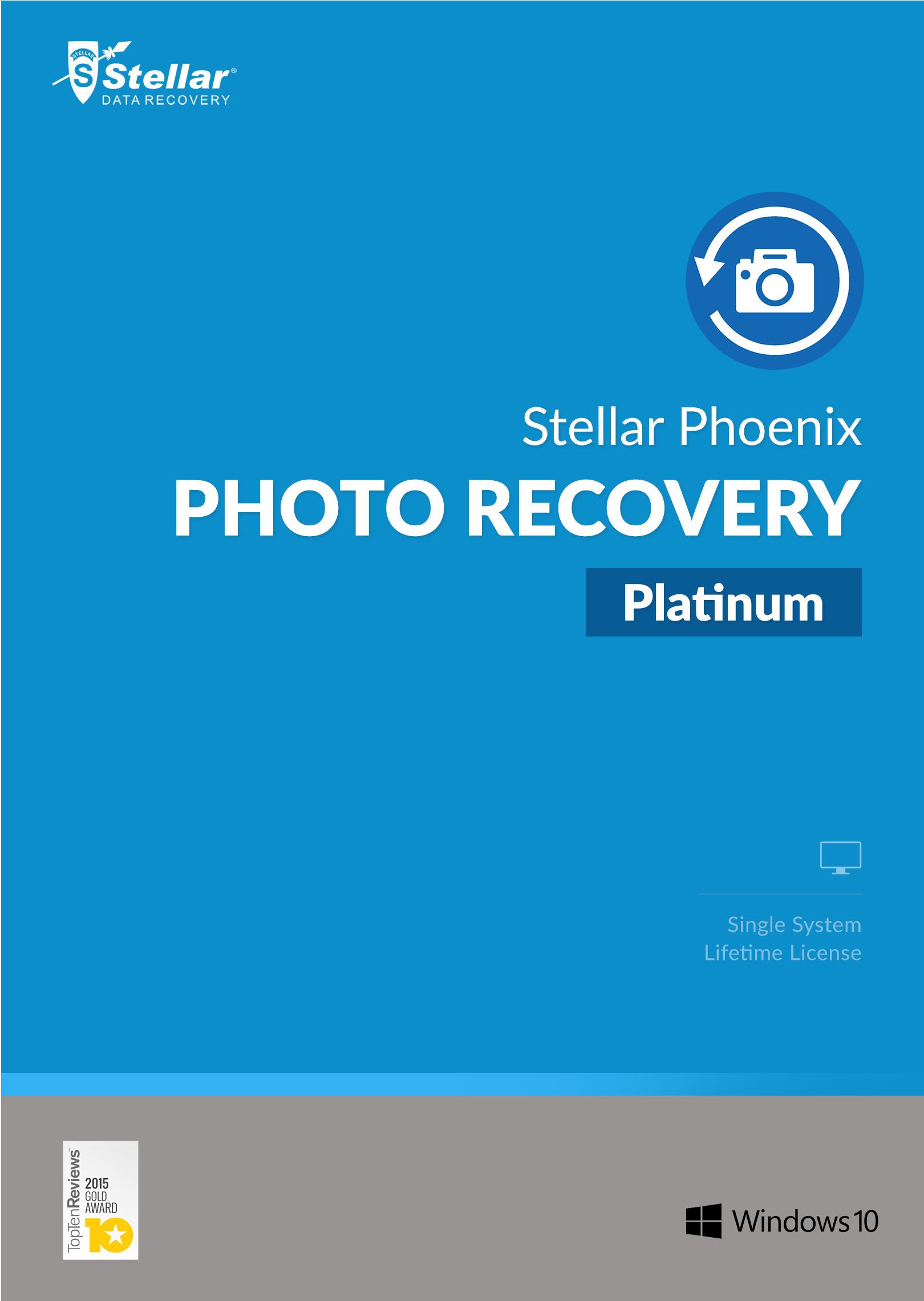 Stellar Phoenix Photo Recovery Platinum Windows [Download]