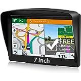 POMILE Navigatore Satellitare Auto per Camion, 7 pollici GPS per Auto Camion Aggiornamento gratuito Mappa 8 GB ROM + 256…