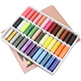 39 Colors Polyester Sewing Thread 160-200 Meters/Color Home Sewing Kit for Hand and Machine Thread to Sew GYH