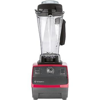 Vitamix VTX TNC5200 RD Total Nutrition Center Power Miscelatore per Centrifugare/Spremere, Rosso