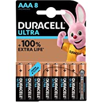 Duracell Ultra Power AAA Batteries, Pack of 8