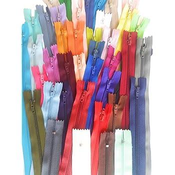 freie Farbwahl 10 x Reißverschlüsse 25cm 13 Farben