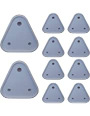 Smiker Baby Safety Socket Anti Shock Heat Resistant Cover for Indian Plug Point -10 Pc (2 Big and 8 Small)