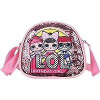 LOL- Surprise Girl Mädchen Handtasche für Kinder, LOL Toys for Girls Pink Crossbody Handtasche, LOL Geschenke für…