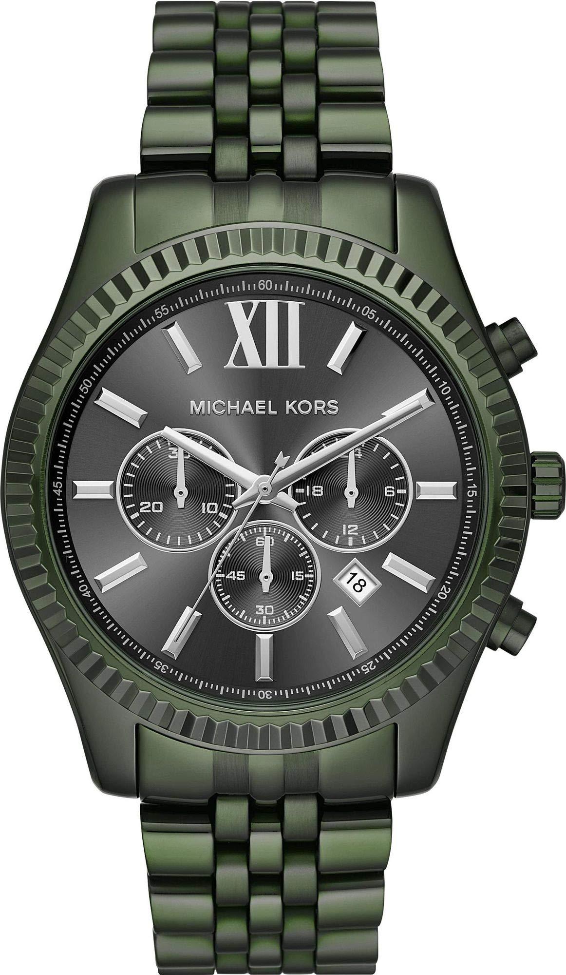 Michael Kors Reloj Analogico para Hombre de Cuarzo con Correa en Acero Inoxidable MK8604