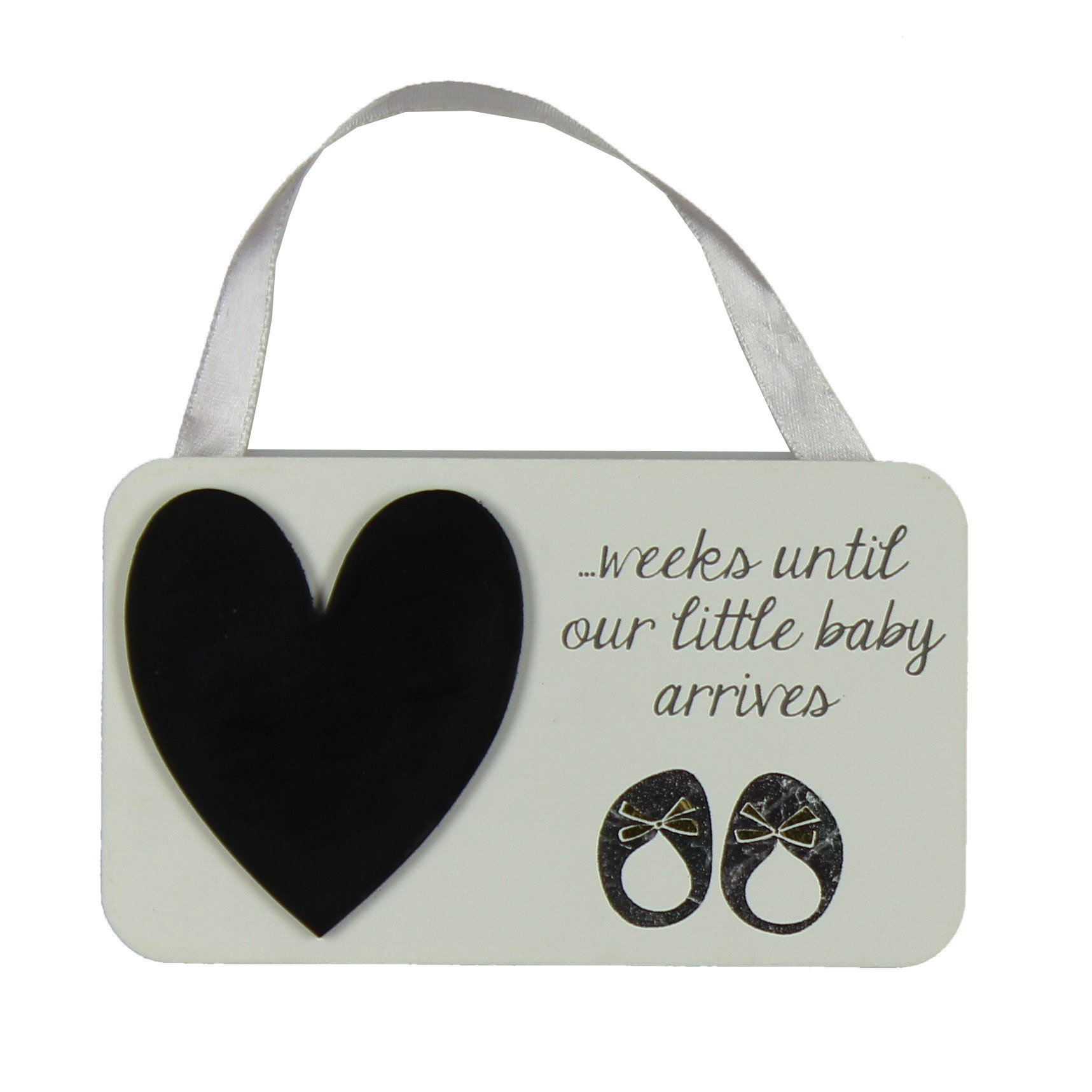 Baby Countdown lavagna Placca Baby Shower Regalo