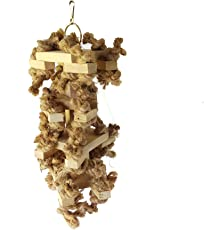 KSK Wooden Chewing Toy for Large Bird