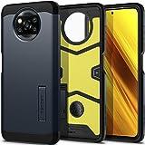 Spigen Tough Armor Case Compatible with Xiaomi Poco X3 NFC and Compatible with Xiaomi Poco X3 Pro - Metal Slate