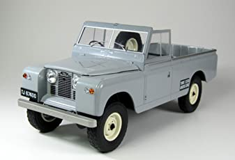 Land Rover 109 Pick up Series II, grau, 1959, Modellauto, Fertigmodell, MCG 1:18