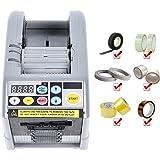Kacsoo Automatische Tape Dispenser Zcut-9 Multifunctionele 6-60mm Cut 1/2 Rolls Elektronische Auto Tape Adhesive Cutter Verpa