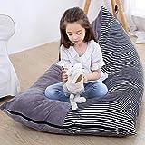 Siège de rangement pour animaux en peluche Housse de rangement pour sac de jouets en peluche Housse de siège de chaise pour s