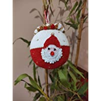 palla -decorazione albero di natale- con babbo natale