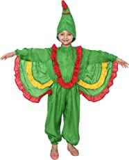 Shri Nikunj Parrot Bird Kids Costume Fancy Dress 6-7 Years