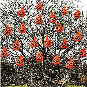Gifts 4 All Occasions Limited SHATCHI-919 - Bolsas de Halloween para colgar, 40 unidades, color naranja