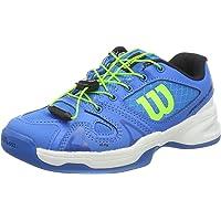 WILSON Rush Pro Jr Ql Carpet, Chaussures de Tennis Mixte Enfant