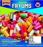 Pmw- Grade A Quality - Gold Finger Snacks - Multi Coloured Fryums - Raw - Gottalu - 500 Grams - Free 15 Gram Fryums…