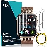 LϟK 6 Pack Protector de Pantalla para Apple Watch 44mm Series 6 5 4 SE - HD Película de TPU Flexible Sin Burbujas Funda Compa
