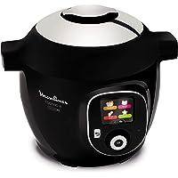 Moulinex Cookeo Connect, Slow Cooker, 1600 W, 6 litres, plastique, noir