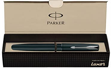 Parker Frontier Matte Black CT Roller Ball Pen