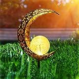 Herefun Lámpara Solar para Jardín, Luz Solar Jardín, Solar para Exteriores Decoración de Jardín, Luz Solar Jardín para Jardín