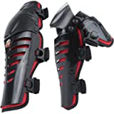 Men Motorbike Motorcycle Biker Racing Protection Black Safety Hinged knee pad guard Knee Pad Gear