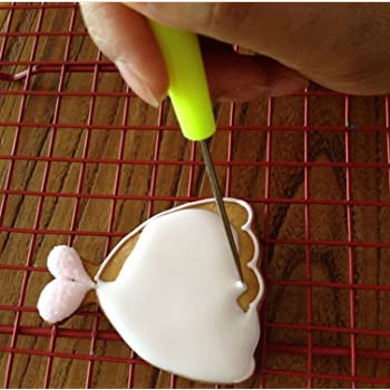 Scriber Needle with Leaf Shaping Modelling Tool For Cake Decorating and Crafts