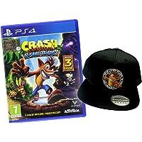 Crash Bandicoot N. Sane Trilogy PlayStation 4 con Cappellino Crash Bandicoot, 7+
