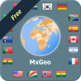 Atlas mondial et carte du monde MxGeo Free