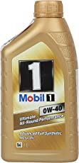 Mobil 1 0W-40 Fully Synthetic Motor Oil (1 L)