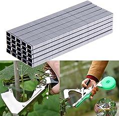 Generic 10000pcs Tapetool Staple Pin Tapener Fruit Tree Binder Nail Plant Branch Trunk Connect Bind Stem Tying Tool (Multicolour, PTMDA0096)